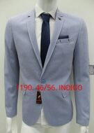 Пиджаки Slim Fit 1190-İNDİGO